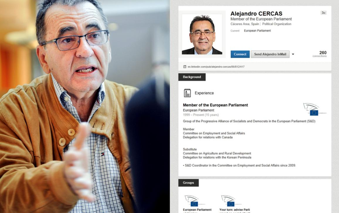 MEP Alejandro Cercas on LinkedIN