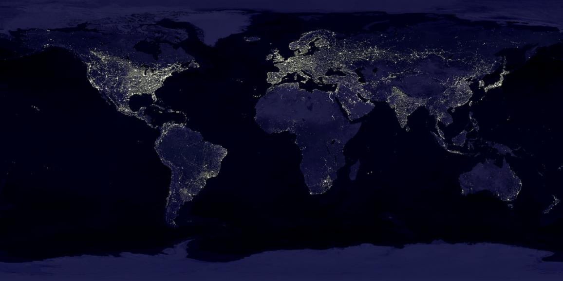 Earth's light ©NASA