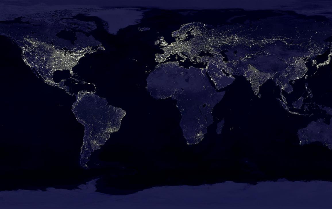 Earth's light ©NASA