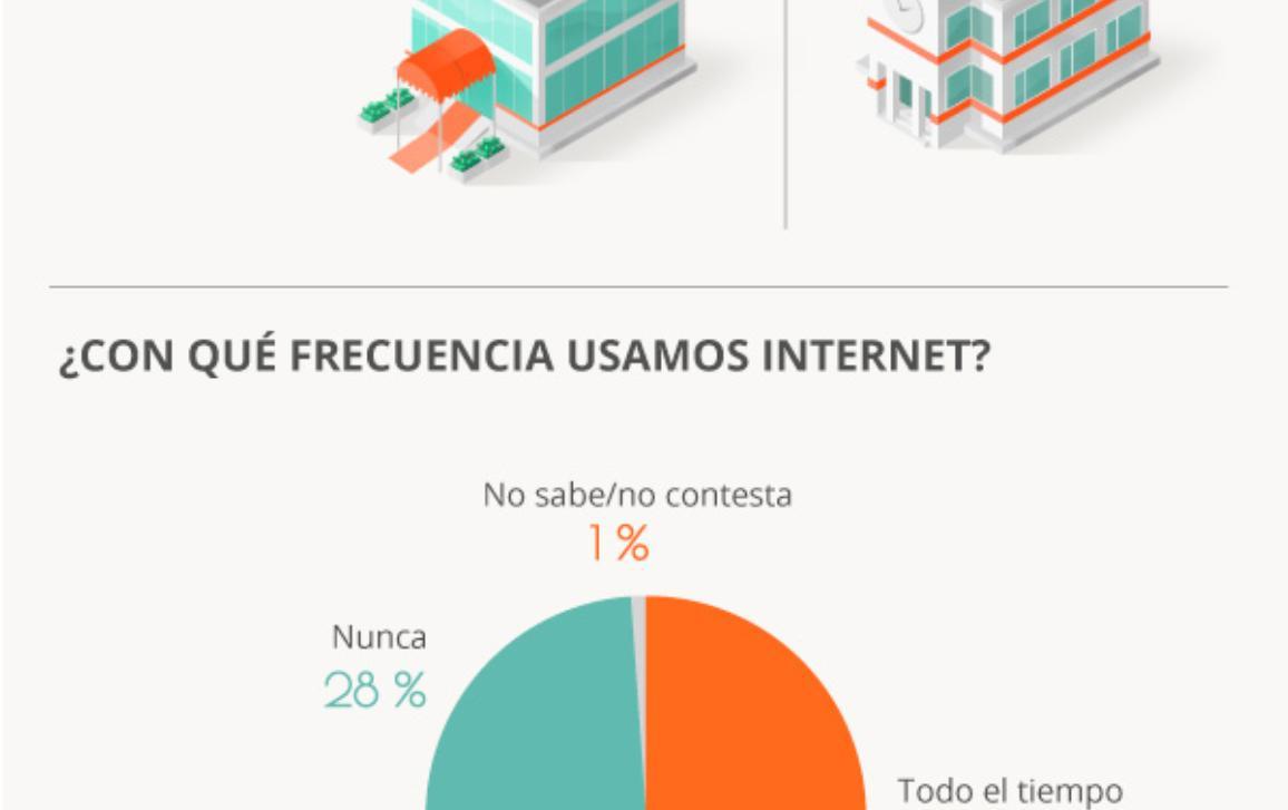 Nuestra infografía ofrece más detalles sobre nuestro comportamiento y nuestros temores en Internet.