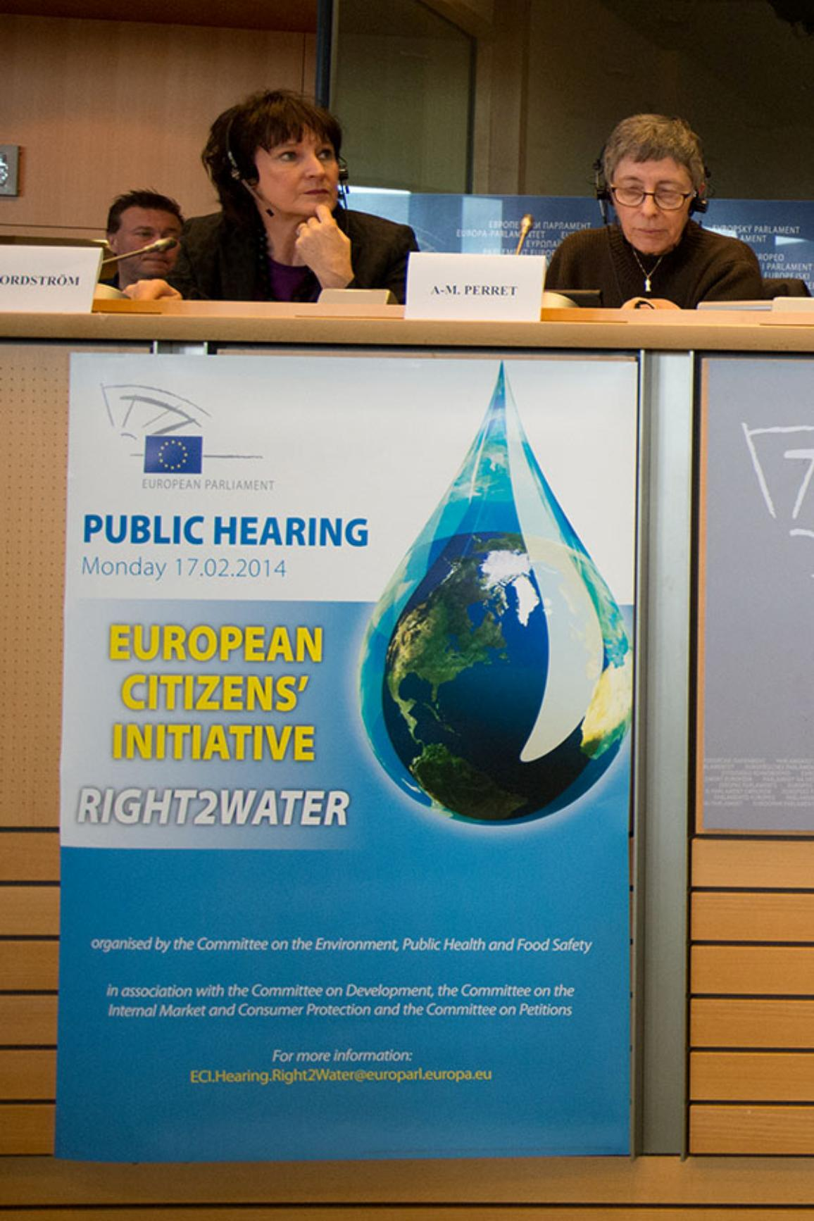 Right2Water public hearing