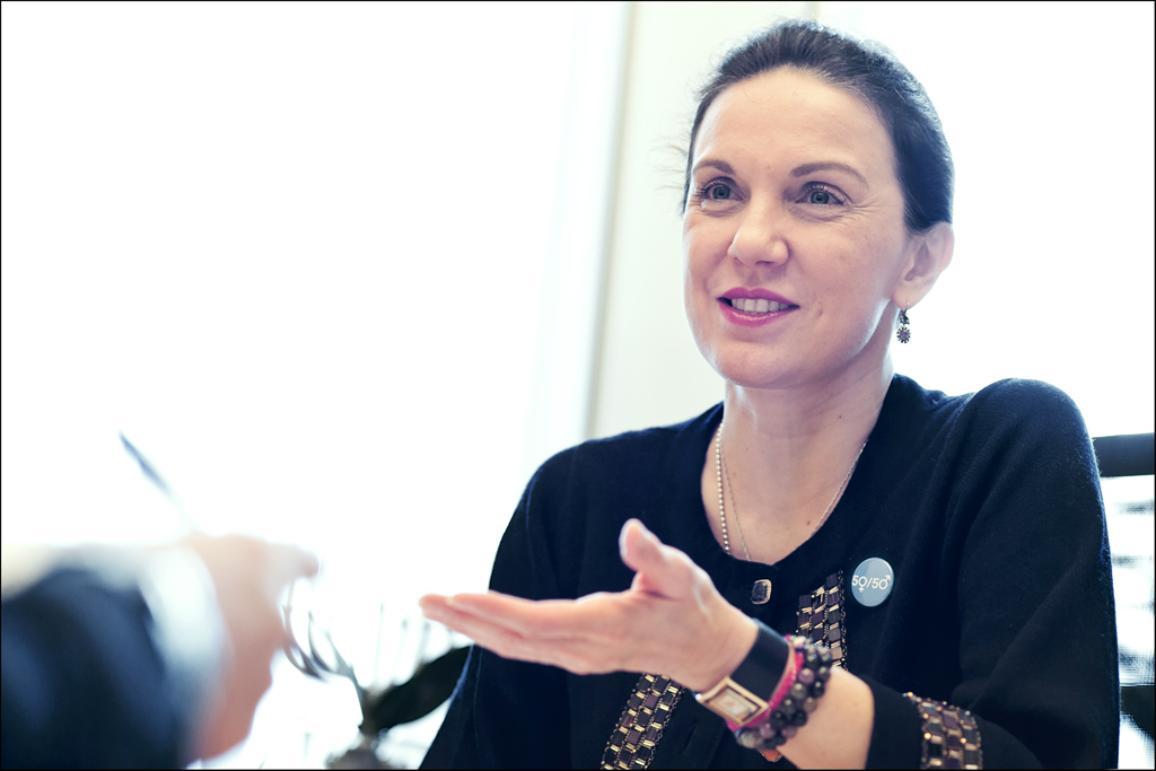 Haastatetavana Antonyia Parvanova