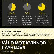 Nyhetsgrafik: Våld mot kvinnor