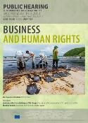 Hearing on business and human rights