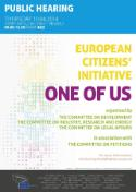 european citizens' initiative hearing