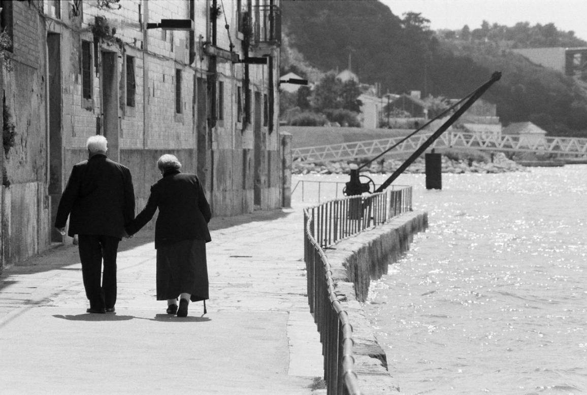 "March Guest photographer is Sicco Brand with the photo ""Enjoying your retirement on the docks of Lisbon"""