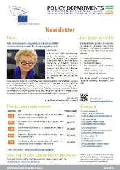 policy departments newsletter n° 10