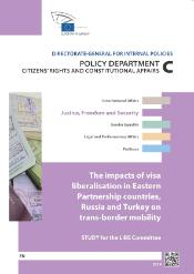 visa in liberalisation in eastern european partnership countries Russia Turkey