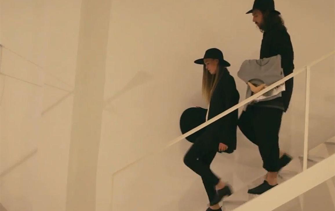 Die dänischen Designer Jens und Sedsel