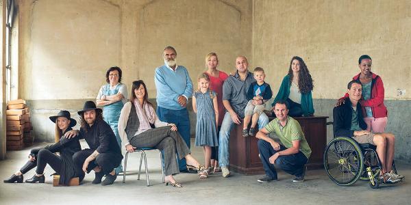 Photo de groupe des électeurs présentés dans notre temps fort