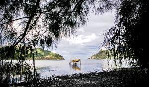 Imagen de la isla de Rapa Iti