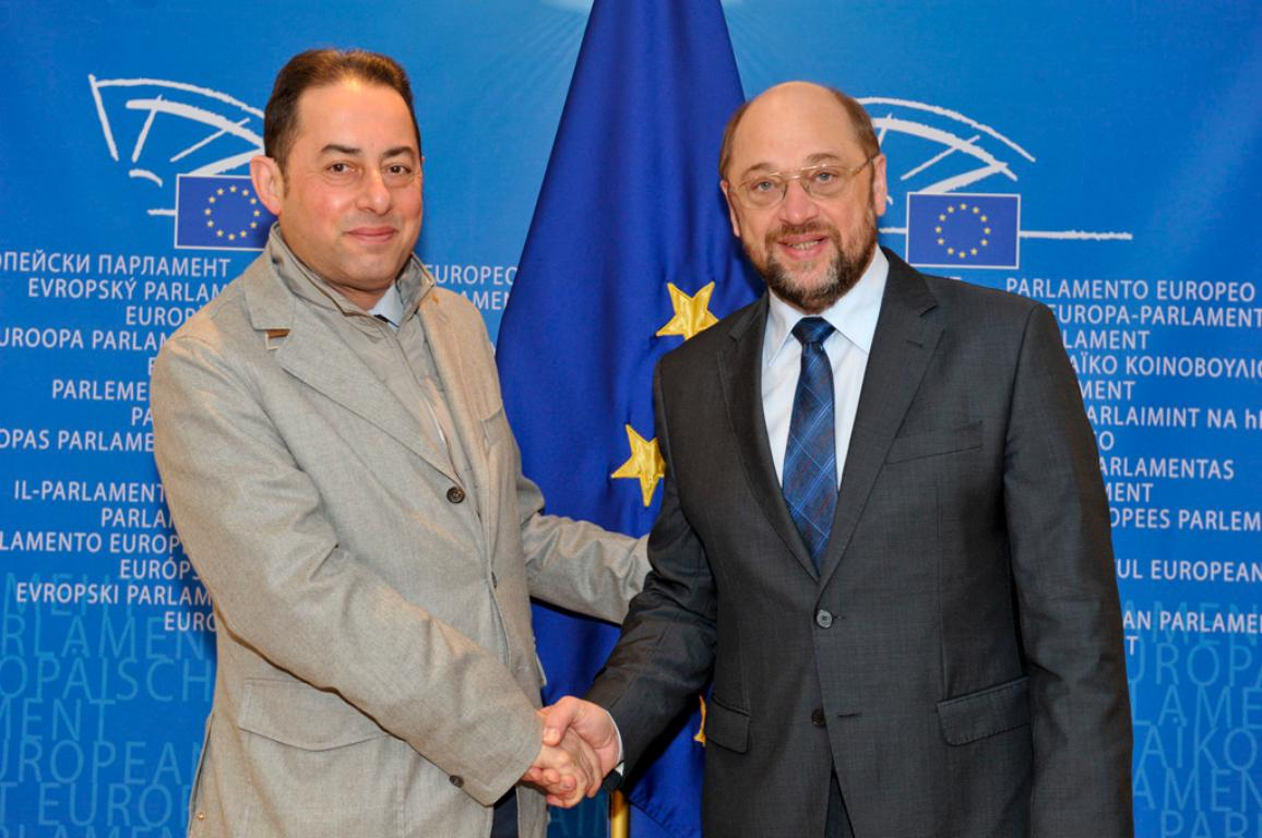 Gianni Pittella, First Vice-President of the European Parliament takes over as Acting President 18 June - 1 July 2014