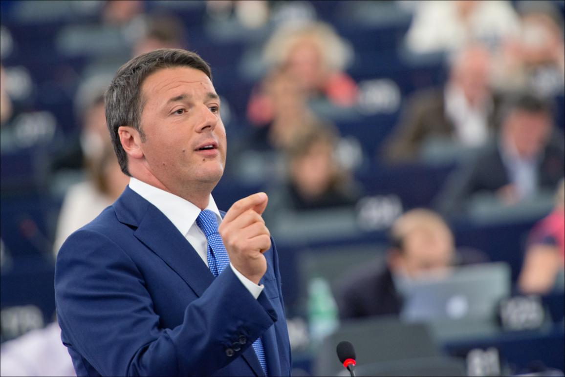 Matteo Renzi presents Italian Presidency's priorities to MEPs