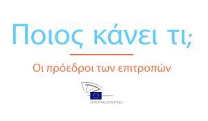Γράφημα - οι επιτροπές του ΕΚ