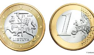 The future Lithuanian 1 euro coins © Lietuvos Bankas