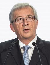 Ο πρόεδρος της Ευρωπαϊκής Επιτροπής, Ζαν Κλοντ Γιουνκερ