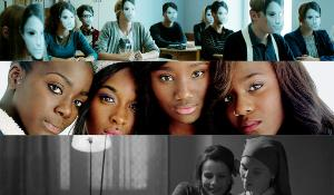 LUX film prize 2014 Finalists - from top: Class enemy (Razredni sovražnik) by Rok Biček, Girlhood (Bande de filles) by Céline Sciamma, Ida by Pawel Pawlikowski_