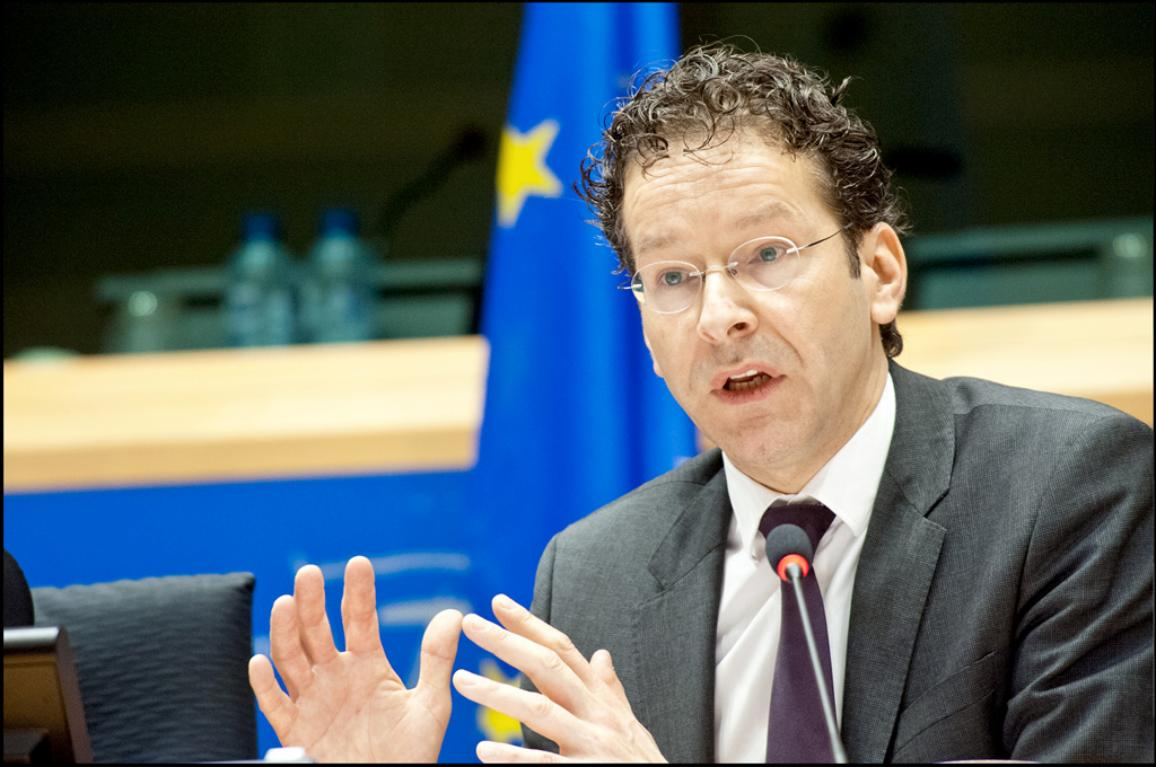 Le Président de l'Eurogroupe, Jeroen Dijsselbloem