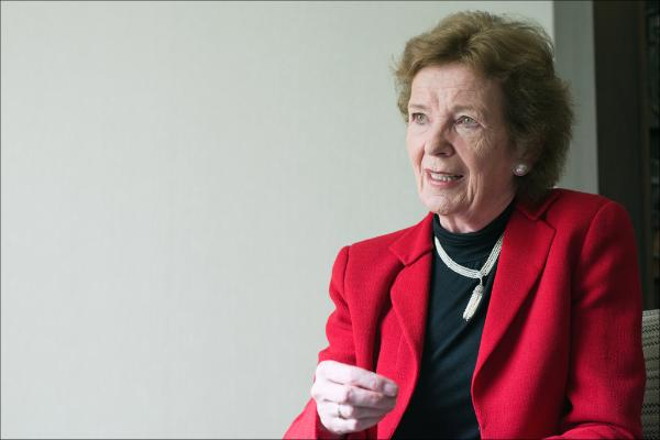UN Special Envoy for Climate Change Mary Robinson
