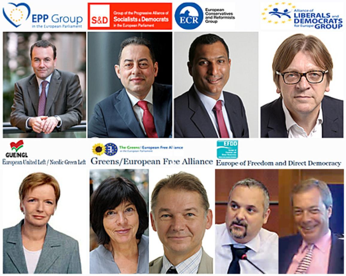 European Parliament political group leaders