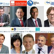 European Parliament political group leaders