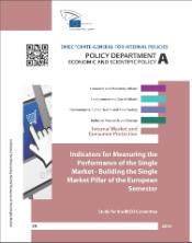 Study: indicators for measuring the Performance of the Single Market