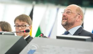 EP President Martin Schulz speech at the opening of September plenary session