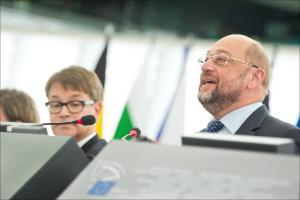 EP President Martin Schulz speech at the opening of September plenary session