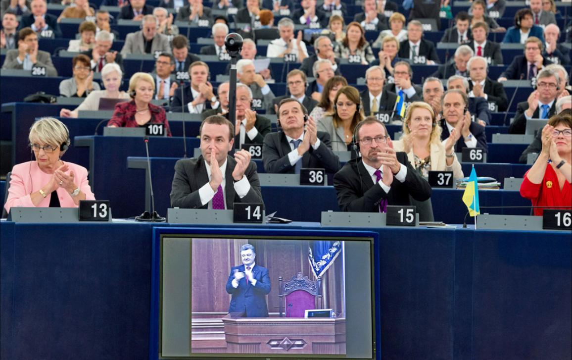 ES ir Ukrainos asociacijos sutarties ratifikavimo akimirka