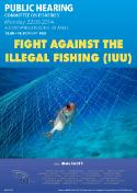Hearing of Fight against Illegal Fishing