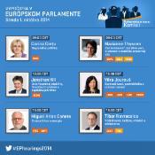 Potréty šiestich nominovaných komisárov