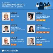 Europarlamentarai trečiadienį išklausys šešis pretendentus į eurokomisarus