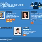 Siódmy dzień wysłuchań kandydatów na komisarzy w Parlamencie Europejskim.