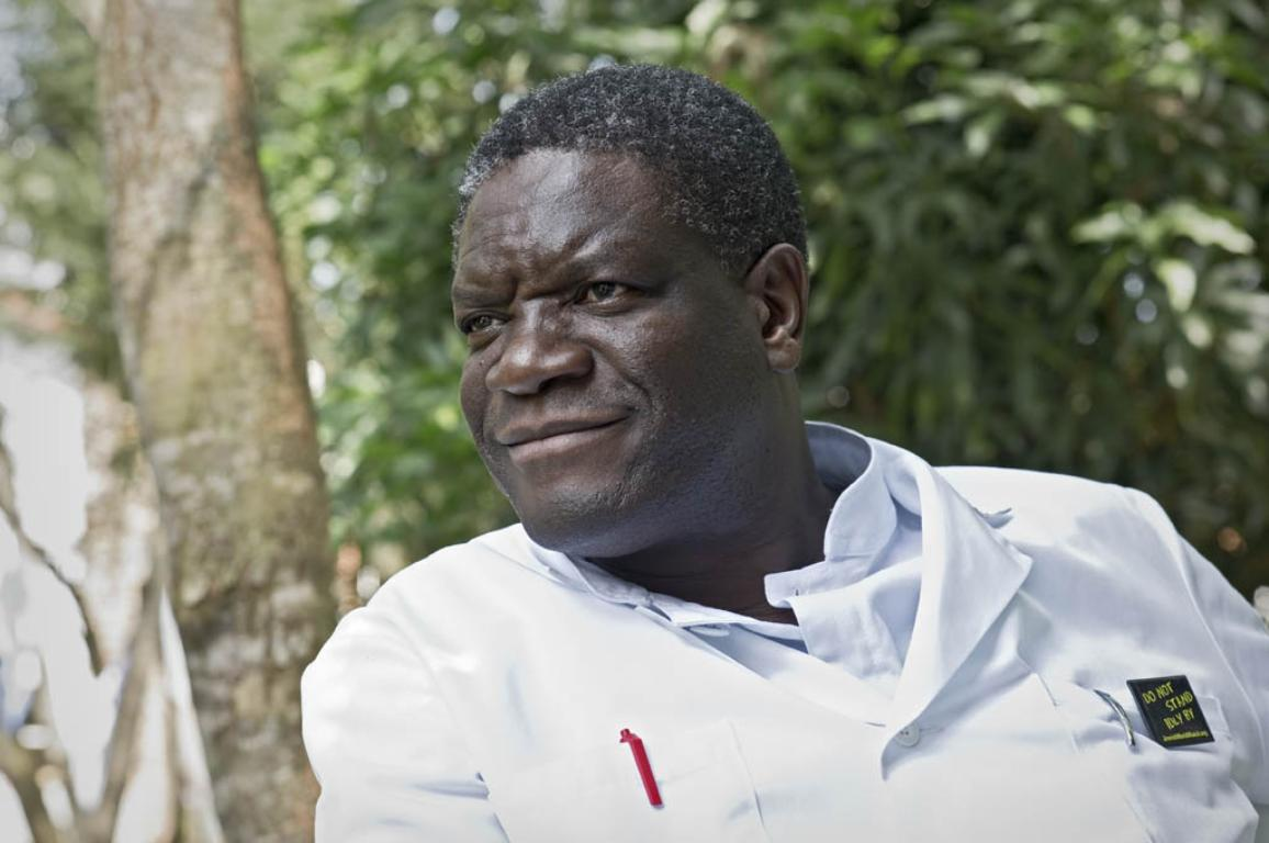 2 BACKUP) The winner of the 2014 Sakharov Prize is Denis Mukwege ©BELGA_ANP COMM_SVEN TORFINN