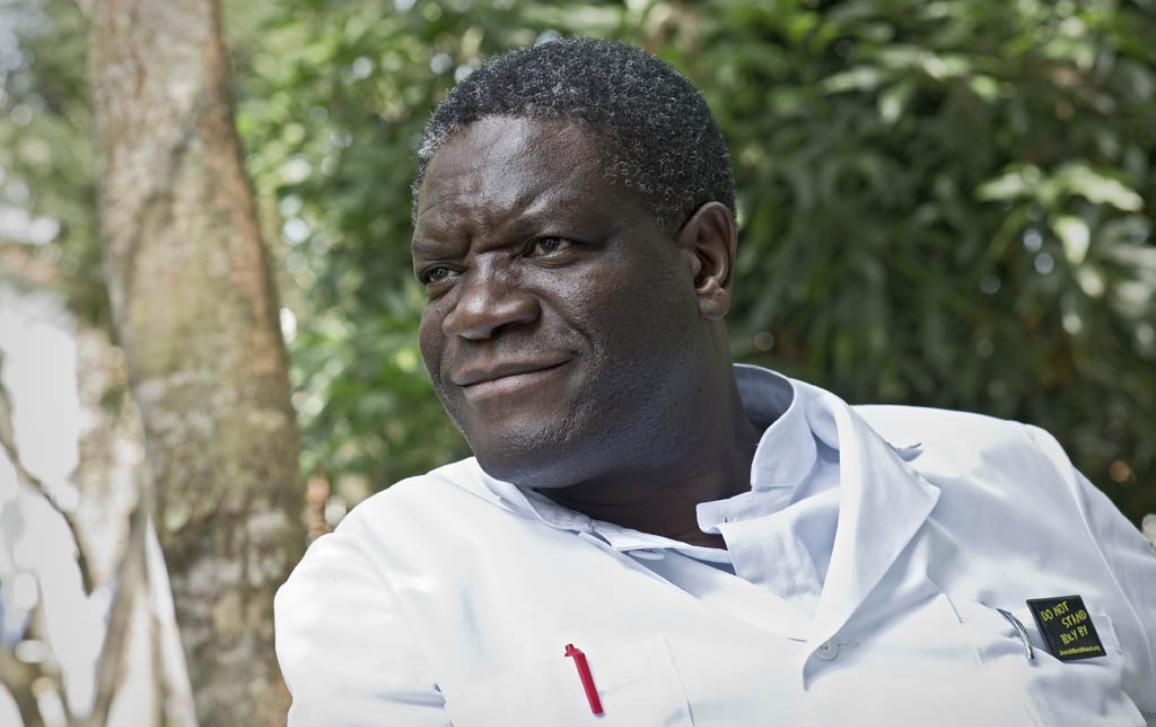 2 BACKUP) The winner of the 2014 Sakharov Prize is Denis Mukwege ©BELGA_ANP COMM_SVEN TORFINN