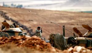 Siège de l'État islamique à Kobané