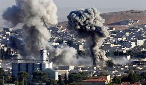 Isis assault on Kobani, Iraq on the Turkish border