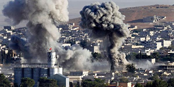 Isis assault on Kobane, Iraq on the Turkish border