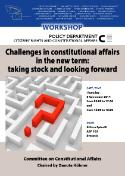 workshop constitutional affairs new term