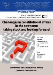 Workshop: constitutional affairs new term