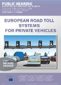 Hearing on European road toll systems