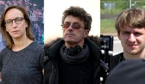 ¨(L-R) Céline Sciamma, director of Girlhood; Pawel Pawlikowski, director of Ida; Rok Biček, director of Class Enemy