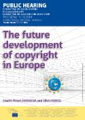 Public hearing on the future development of copyright in Europe (JURI in cooperation with CULT)