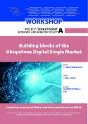 Building blocks of the Ubiquitous Digital Single Market