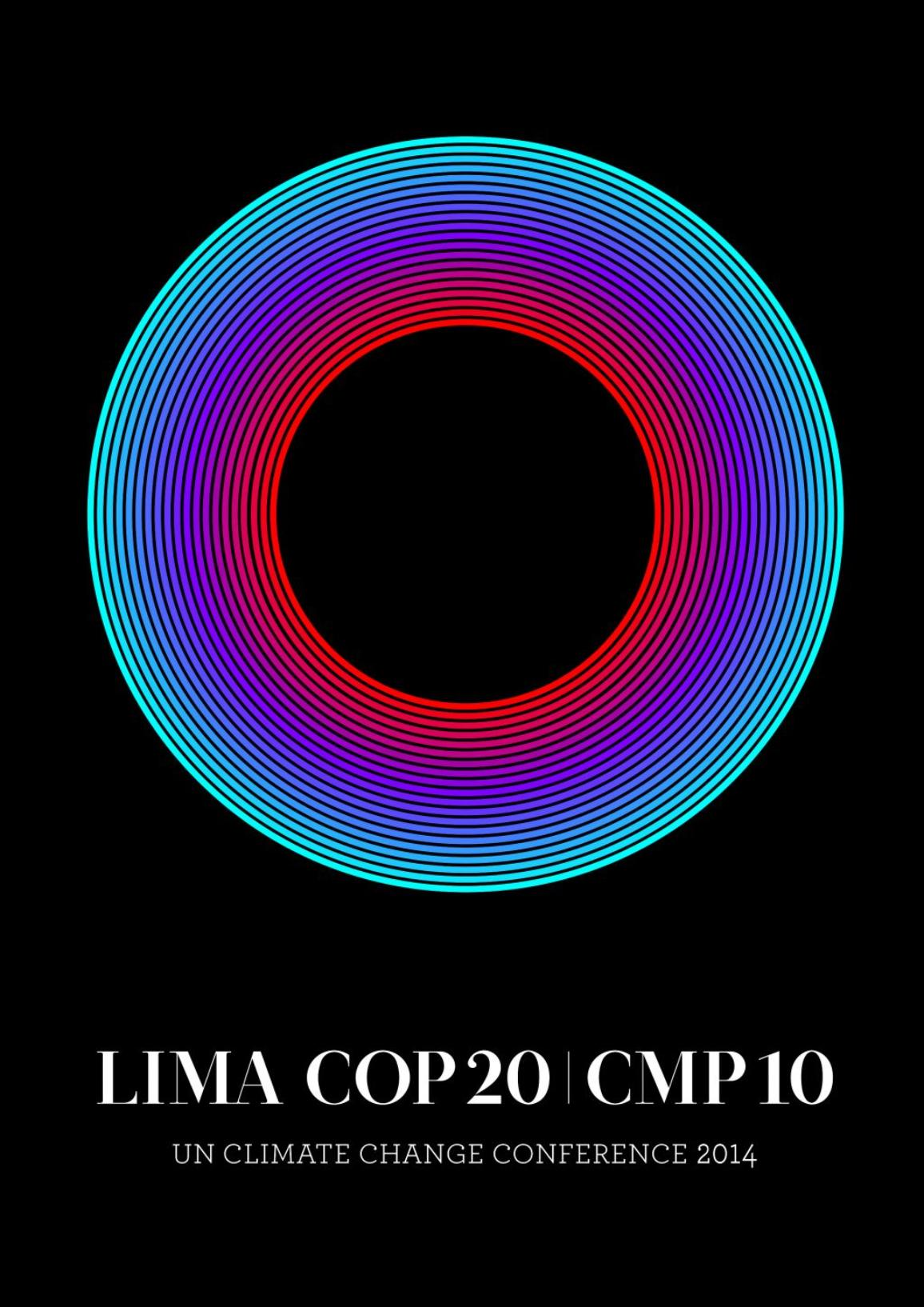 Official logo of the COP20, UN Climate Change Conference in Lima