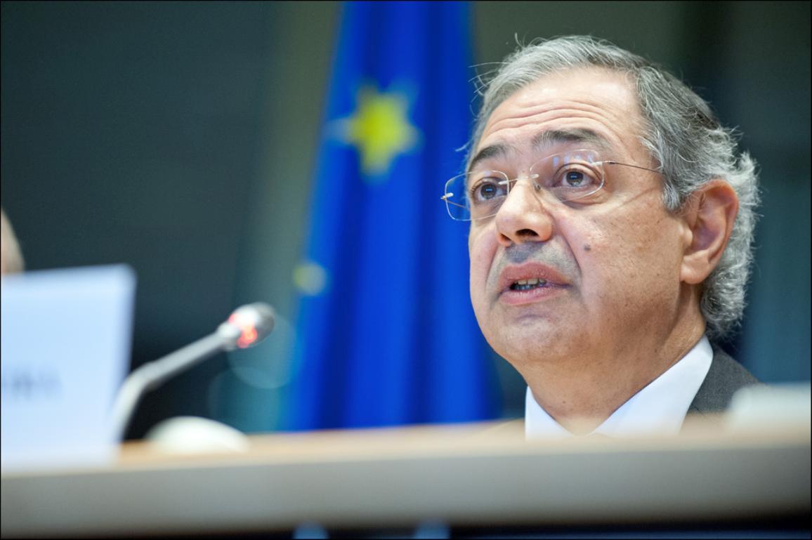 Europos Audito Rūmų pirmininkas Vítoras Caldeira