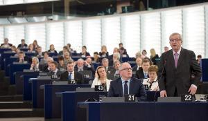 EC president Juncker at EP Plenary_