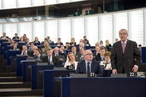 EC president Juncker at EP Plenary_