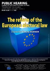 The reform of the European electoral law
