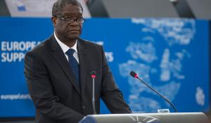 Sakharov Prize winner Mukwege_